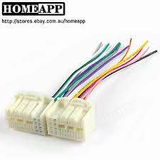 car cd player wiring harness wire adapter for hyundai kia mistra image is loading car cd player wiring harness wire adapter for