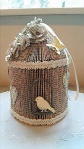 today i ll be showing you how to make a birdcage from a paperback book cornerhouse 115 is a family business an