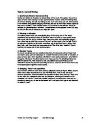 sportsmanship essay winners sportsmanship essay multimedia contest miaa