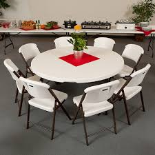 how many chairs will fit around my lifetime tables