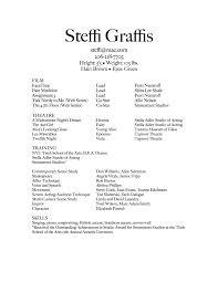 acting resume beginner special skills acting resume template beginner acting resume sample