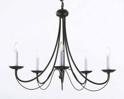 outstanding vintage wrought iron chandelier 4 recent rustic lighting within