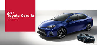 The 2017 Toyota Corolla vs the Honda Civic | Ourisman Chantilly ...