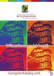 Etappe des radsportrennens deutschland tour 2006. Gastgeberkatalog 2016 Der Stadt Witzenhausen By Friends In Box Issuu