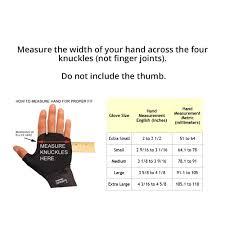Flexfit Size Chart Handeze Flexfit Gloves Single