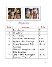 child marriage in special references to rural area