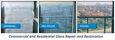 glass restoration and scratch repair