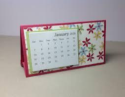 small desk calendar 2018 flower calendar coworker gift teacher gift business gift