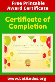 parenting certificate templates 58 best award certificates for kids images on pinterest award