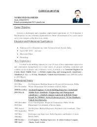 Sample Of The Best Resume Sample Career Objective For Resume