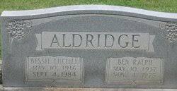 Bessie Lucille Aldridge (1916-1984) - Find A Grave Memorial