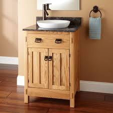 bathroom quot mission linen: quot mission hardwood vanity with semi recessed basin