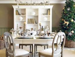 Holiday Dining Room Decorating Dining Room Table Setting Ideas Simple And Elegant Christmas
