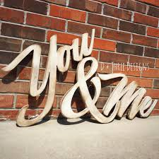 distressed me you painted wooden letters you and me wooden letters wooden letters wall letters wooden sign
