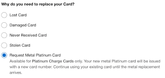 allow up to five business days for the new card to be delivered