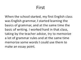my english class essay reflective essay on english class english writing when english is not my first language viola gjylbegaj