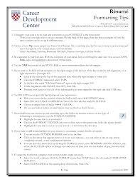 Resume Layout Tips resume format tips Resume Samples 2