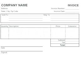 Transportation Invoice Template