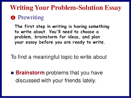 problem solution essay problem and solution briefly 4