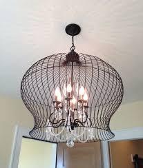 lightning 7 stunning birdcage light fixture bird cage inside prepare 4