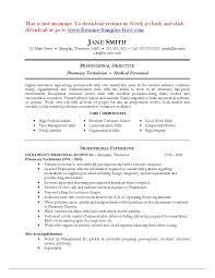 Pharmacy Tech Resume Samples Awesome Certified Pharmacy Technician