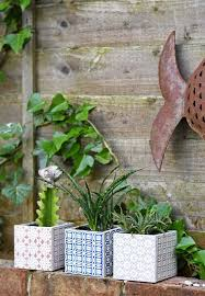 make beautiful moroccan planters in