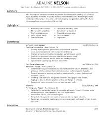 Sample Resume For Retail Manager Unique Sample Store Manager Resume Sample Resume For Retail Manager Retail