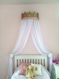 Bed Crown Canopy Diy Bed Crown Canopy French White Rose Baroque ...