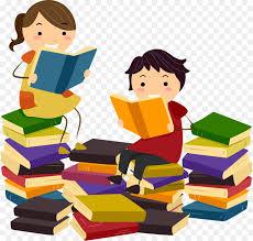 reading book clip art reading