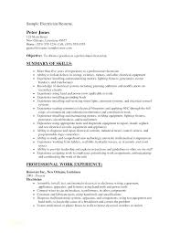 Apprenticeship Cover Letter Sample Electrician Resume Template Electrician Resume Cover Letter