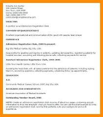 Resume Work Experience Order First Job No Cover Letter Effortless