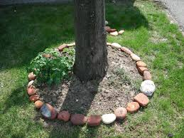 Decorative Stones For Flower Beds Narutal Stone Flower Bed Border Ideas 2636 Latest Decoration Ideas