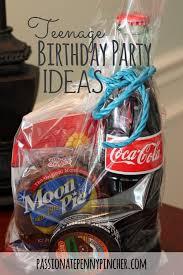 Boy teen birthday party