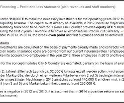 Document Template : Business Plan Financial Plan Template Free ...