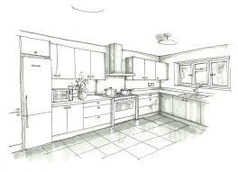 interior design sketches kitchen. Drawing Furniture And Depth - Google Search Interior Design Sketches Kitchen I