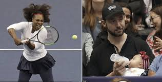 Is It Weakness For Husband To Look After Babies While Wife Is At Work? -Image result for serena williams husband
