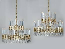 mid century modern chrome beveled glass chandelier replacement beveled glass chandelier