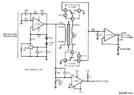 index circuit diagram com lvdt signal conditioner mechanical position