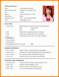 Official Resume Format Best Official Resume Format Yelommyphonecompanyco