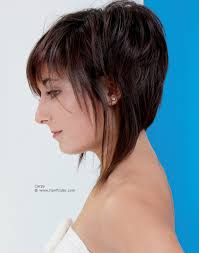 Aline Hair Style aline shape haircut with a high back and longer sections on the side 5401 by wearticles.com