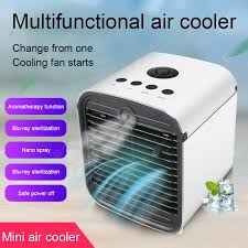USB Air Cooler Fan with Water Cooled Portable Air Conditioner ...