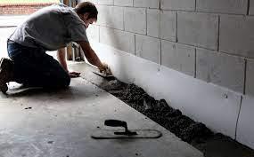 diy basement waterproofing by triad