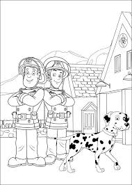 Brandweerman Sam Kleurplaten Voor Kinderen Kleurplaat En A