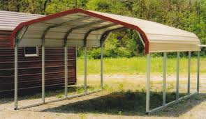 how to build a steel carport