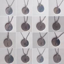 new alloy round alphabet pendant necklace initial letters charm hot valentine jewelry short silver gold plated necklace necklace jewellery jewelry
