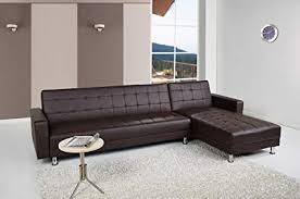 convertible sectional sofa bed. Modren Bed Gold Sparrow Frankfort Convertible Sectional Sofa Bed Dark Brown Inside Bed T