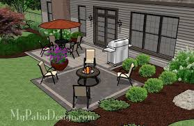 simple patio designs with pavers. Simple 2 Paver Style Patio. $6,145 Patio Designs With Pavers S
