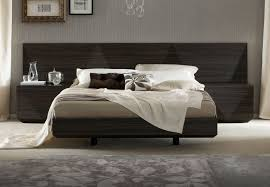 modern platform beds master bedroom furniture lacquered made in italy wood luxury