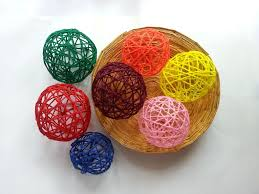 Decorative Yarn Balls DIY Decorative Yarn Balls 100 Steps with Pictures 1