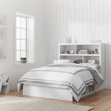beds with storage headboards. Perfect Storage StoreIt 6Cubby Bed  Storage Headboard Set To Beds With Headboards H